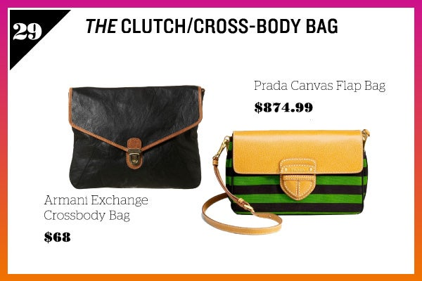 Summer Wardrobe Essentials - Cross-Body Bag