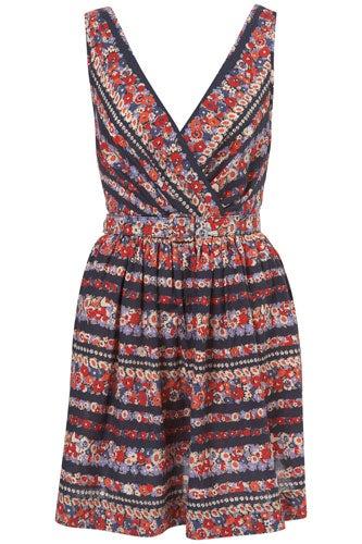 summer floral dress under $100