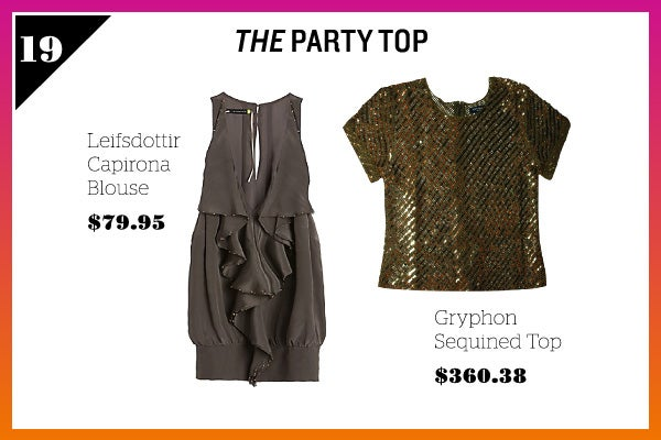 Summer Wardrobe Essentials - Party Top