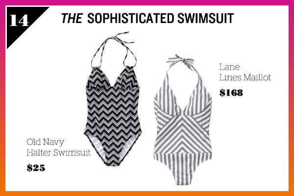 Summer Wardrobe Essentials - Sophisticated Swimsuit