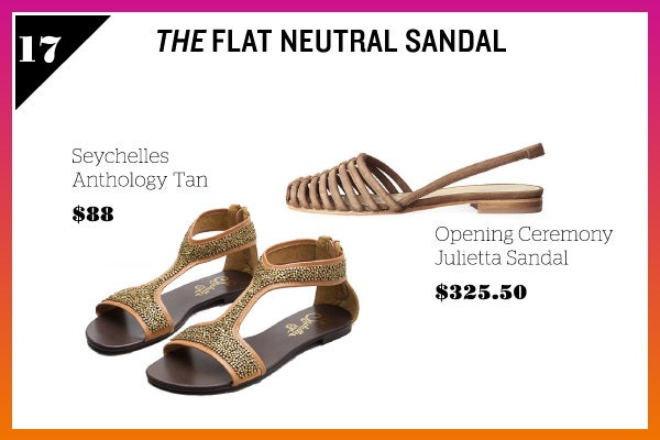 Summer Wardrobe Essentials - Flat Sandal