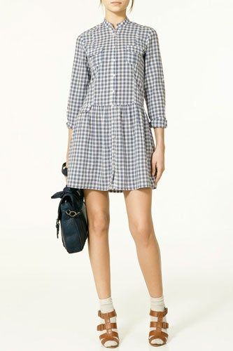 plaid summer dress under $100