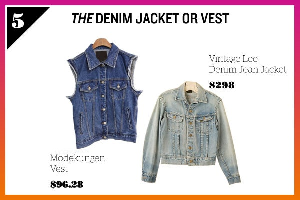 Summer Wardrobe Essentials - Denim Jacket Vest