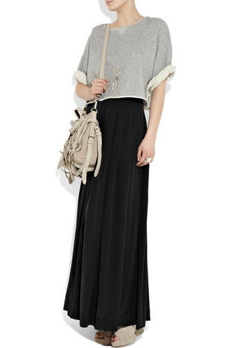 How to Wear Maxi Skirts-  Wear Long Maxi Skirts