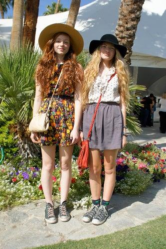 Coachella style - friend style at Coachella