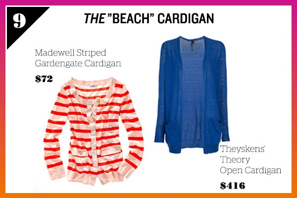Summer Wardrobe Essentials - Beach Cardigan