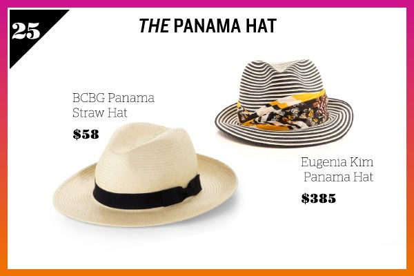 Summer Wardrobe Essentials - Panama Hat