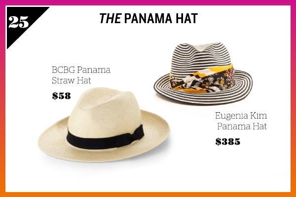 Summer Wardrobe Essentials - Panama Hat