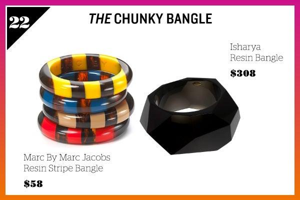 Summer Wardrobe Essentials - Chunky Bangle