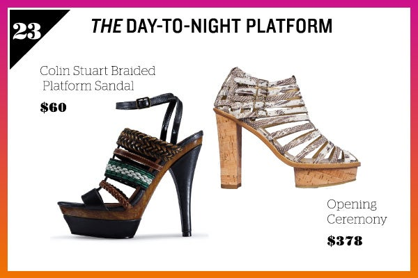 Summer Wardrobe Essentials - Day To Night Platform