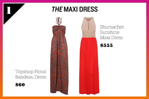 Summer Wardrobe Essentials - Maxi Dresses