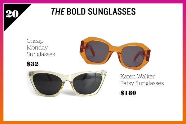 Summer Wardrobe Essentials - Bold Sunglasses