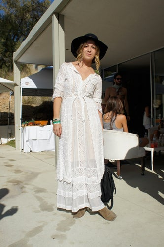 Coachella Style - Lace Maxi